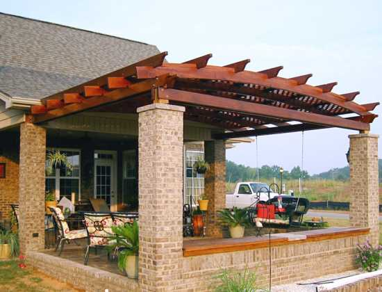 Pergola design wood crafters for Pergola designs